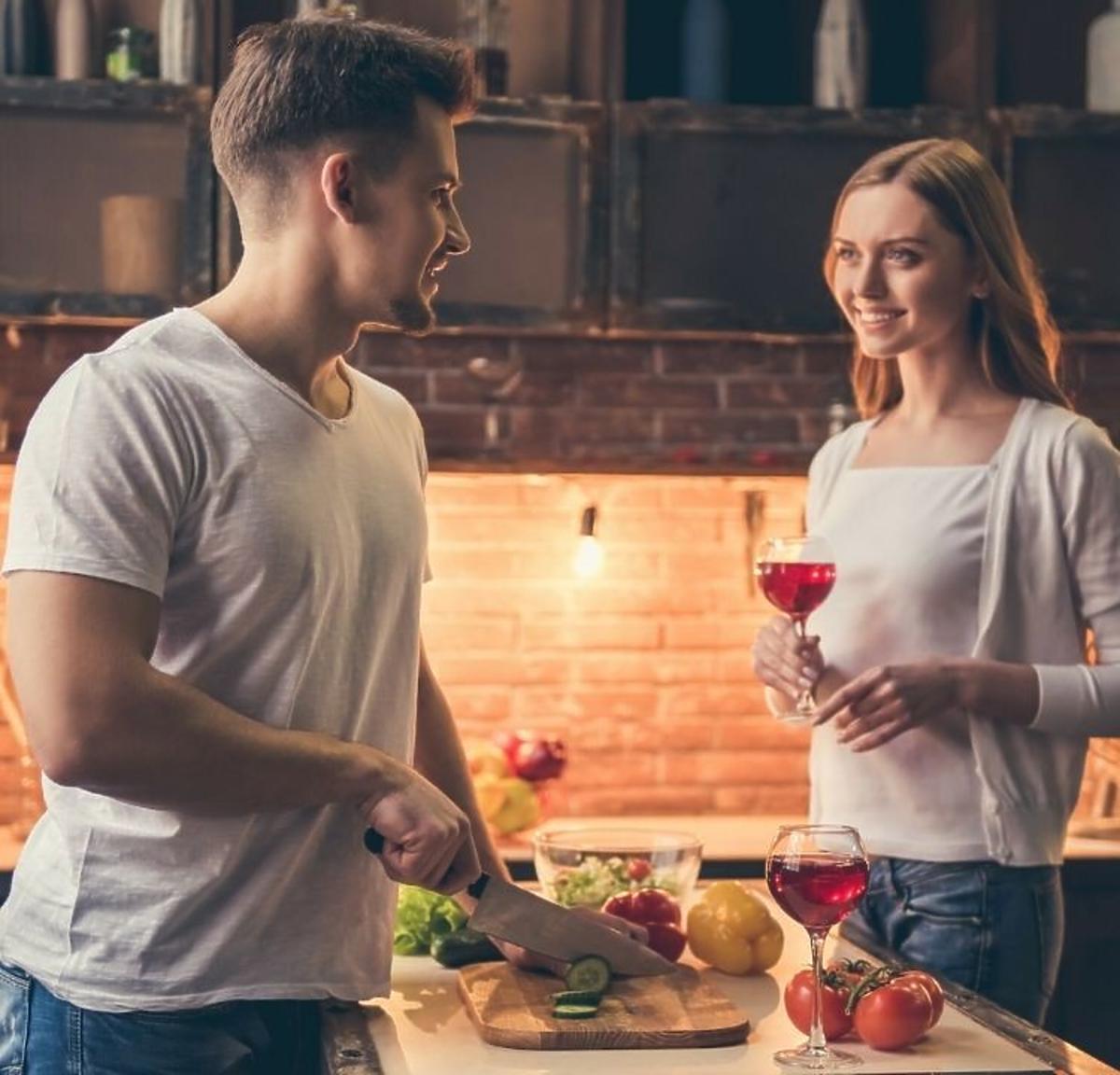 Walentynkowe gotowanie
