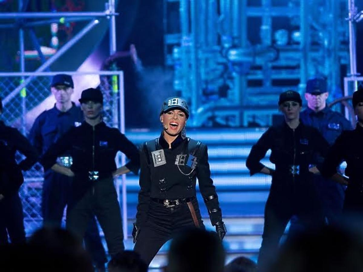 Katarzyna Glinka zmieniła się w Janet Jackson