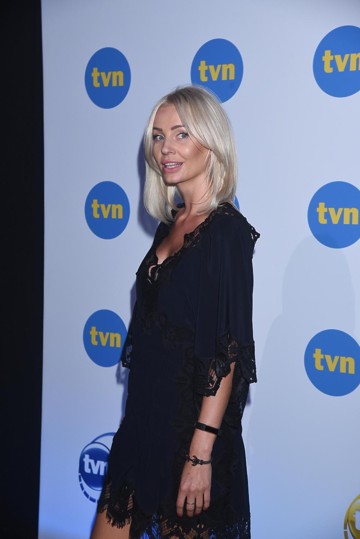 Agnieszka Szulim na prezentacji jesiennej ramówki TVN