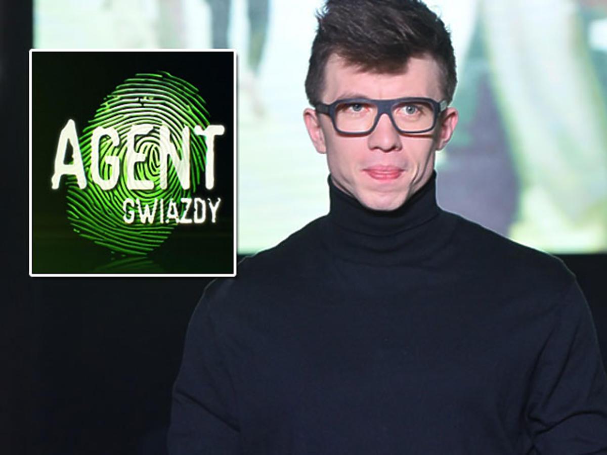 Alan Andersz w programie Agent -Gwiazdy