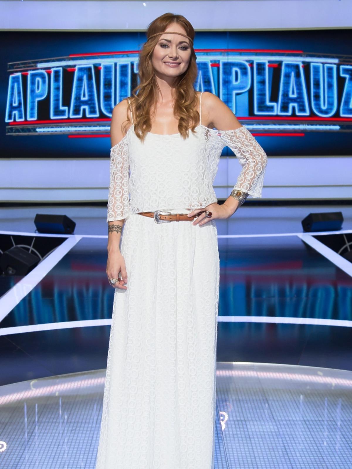 Ania Rusowicz w opasce boho
