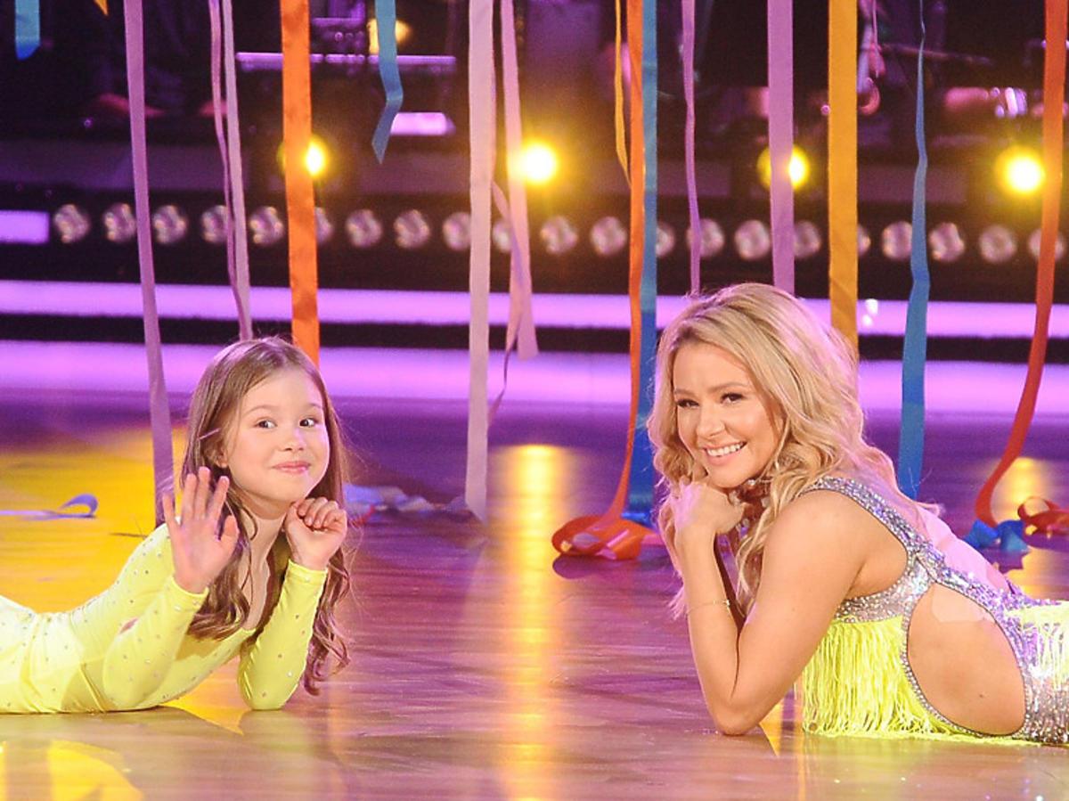 Anna Karwan z córką Oliwią w Tańcu z gwiazdami