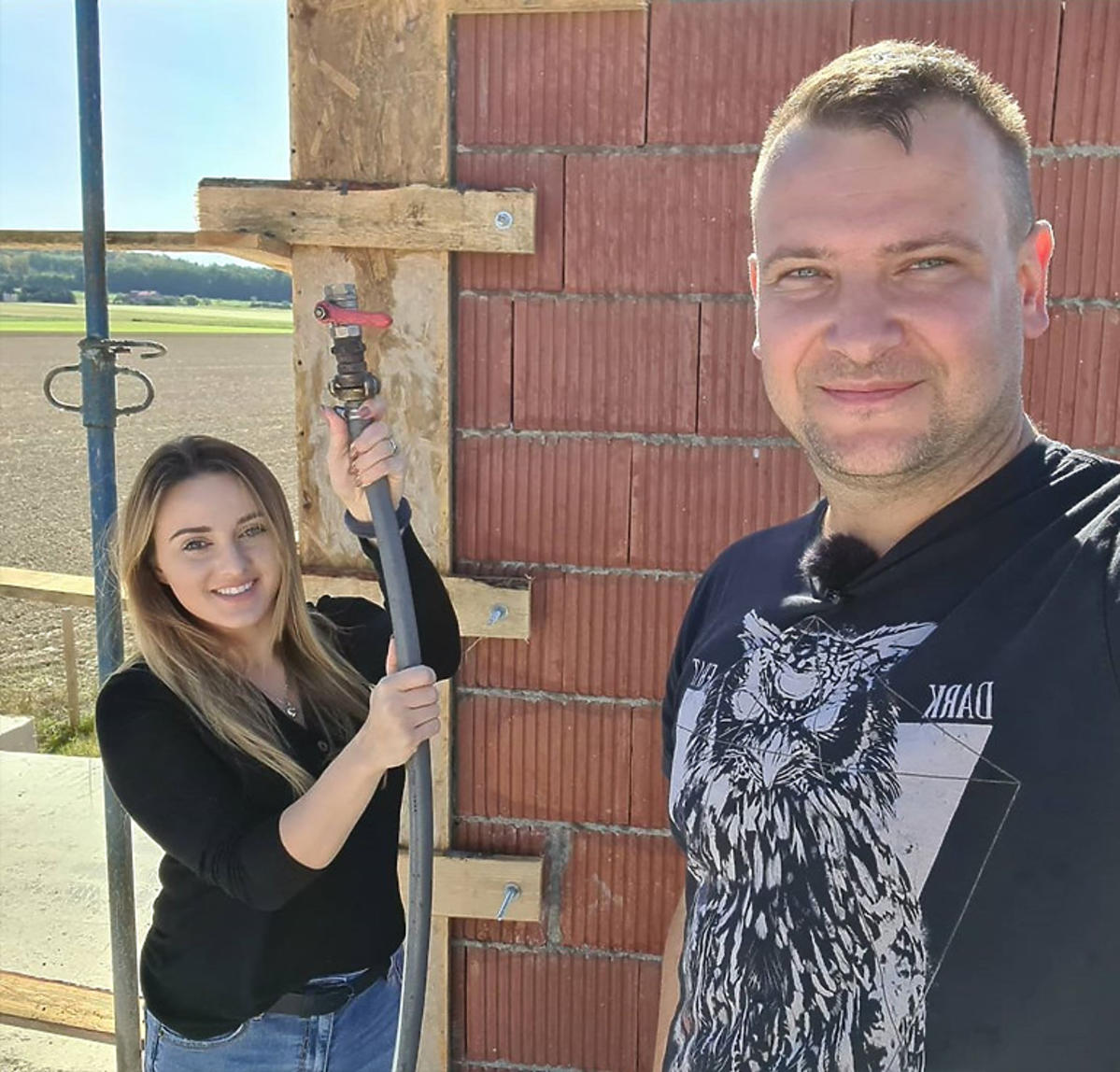 Bardowscy remontują dom.