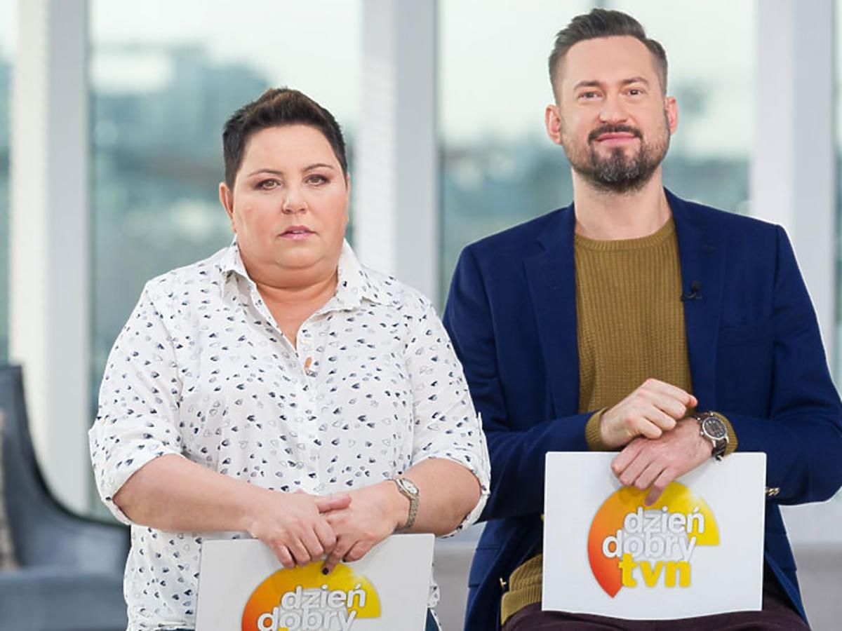 Dorota Wellman i Marcin Prokop w Dzień dobry TVN