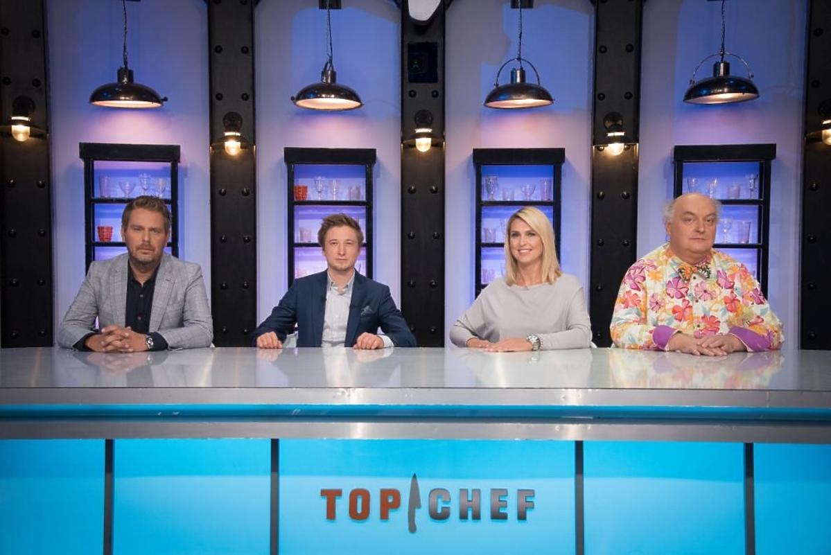 Ewa Wachowicz, Wojciech Amaro, Maciej Nowak, Grzegorz Łapanowski - jurorzy show Top Chef