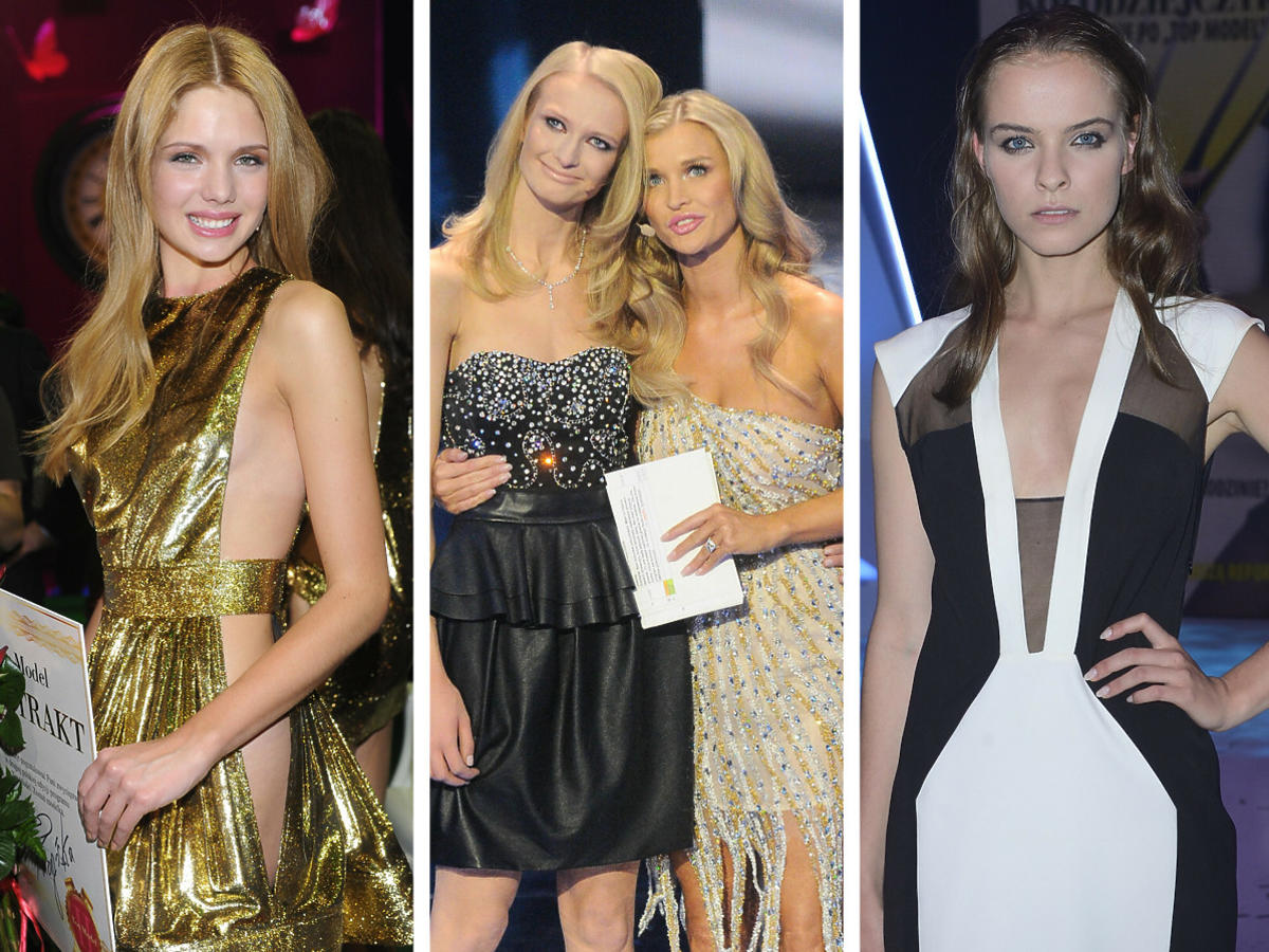 Gwiazdy Top Model kiedyś i dziś