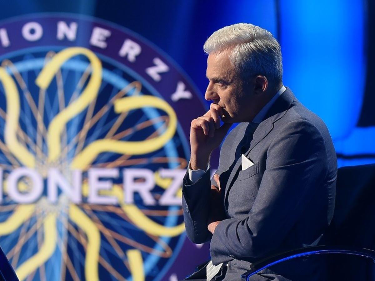 Hubert Urbański w programie Milionerzy