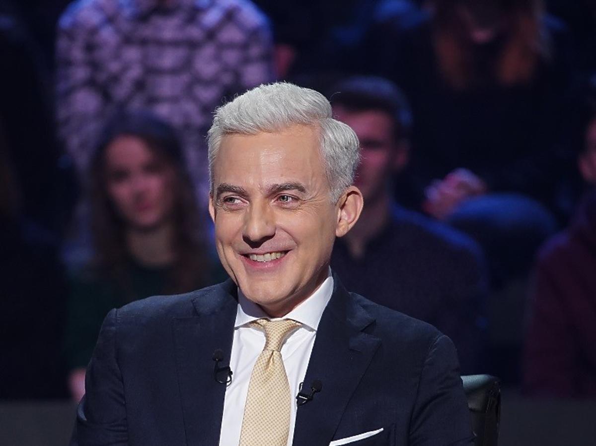 Hubert Urbański w show Milionerzy