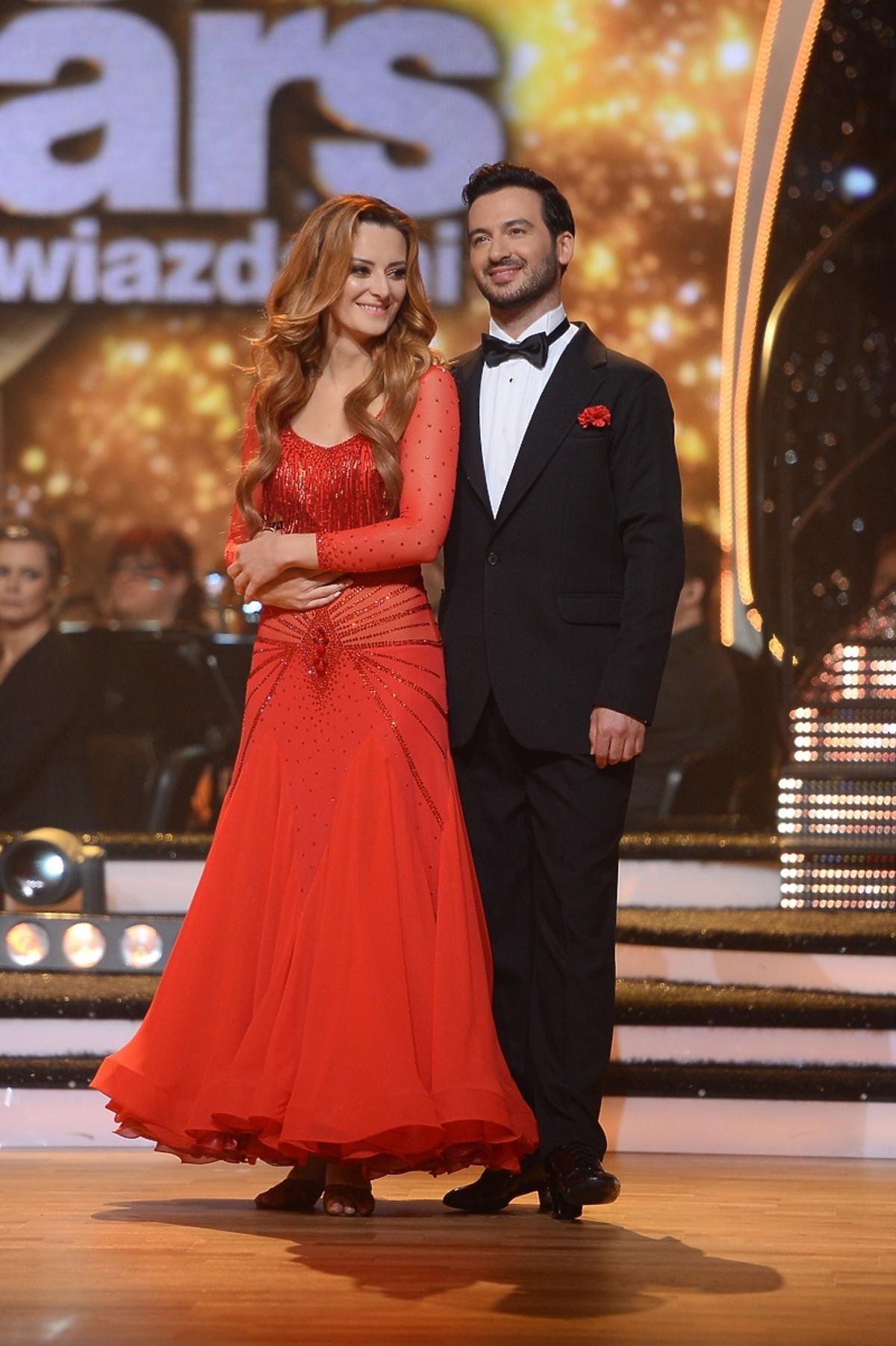 Iwona Cichosz i Stefano Terrazzino w finale Tańca z Gwiazdami