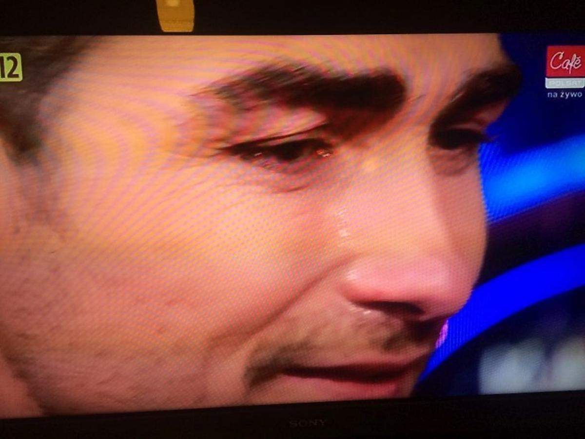 Jan Kliment płacze na planie Tańca z gwiazdami