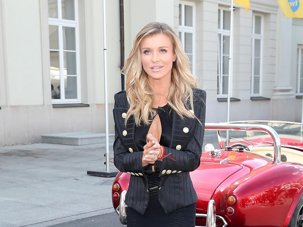 Joanna Krupa na castingu Top Model