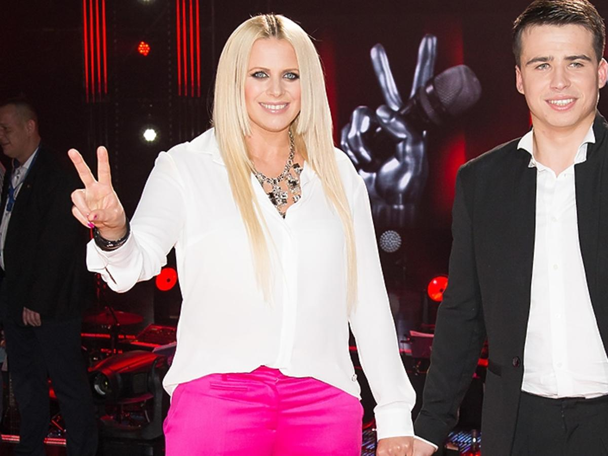 Krzysztof Iwaneczko, Marysia Sadowska w show The Voice of Poland
