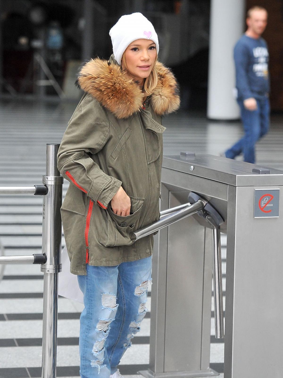 Maja Bohosiewicz w zimowej stylizacji
