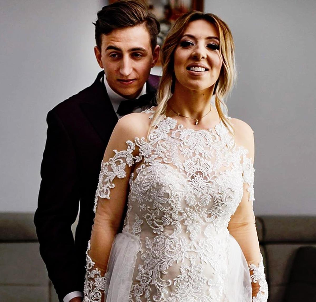 Małgosia i Paweł świętowali pierwszą rocznicę ślubu