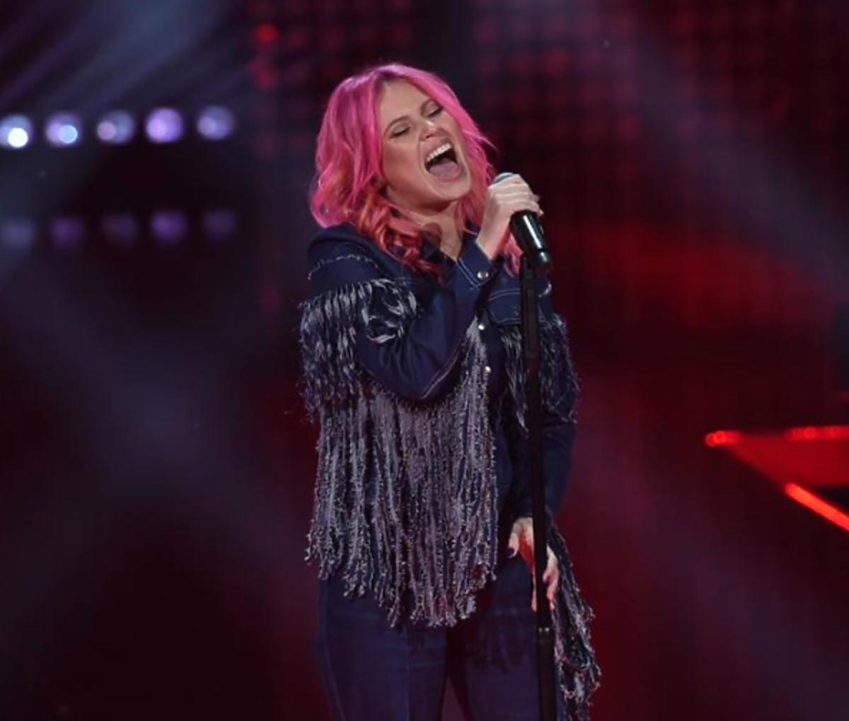 Marta Gałuszewska w The Voice of Poland