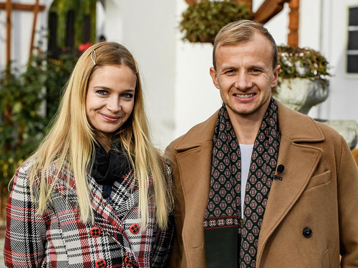 Marta i Paweł z Rolnik szuka żony w jesiennych płaszczach