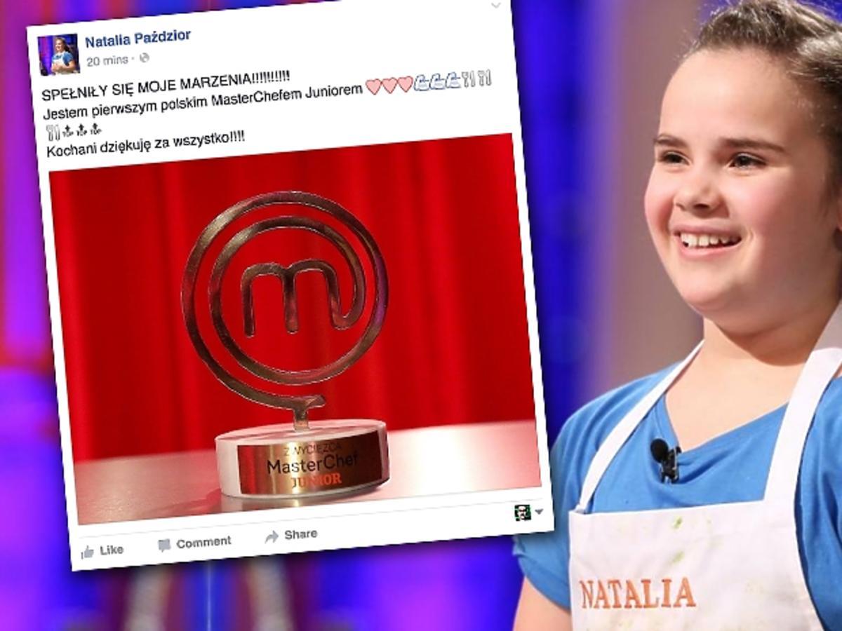 Natalia Paździor wygrała MasterChef Junior