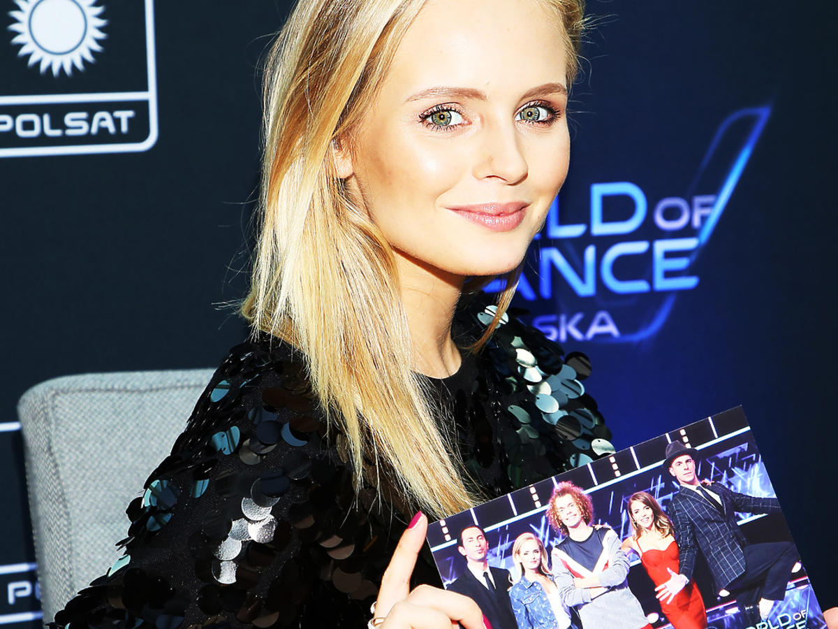 "Olga Kalicka w ""World of Dance"""