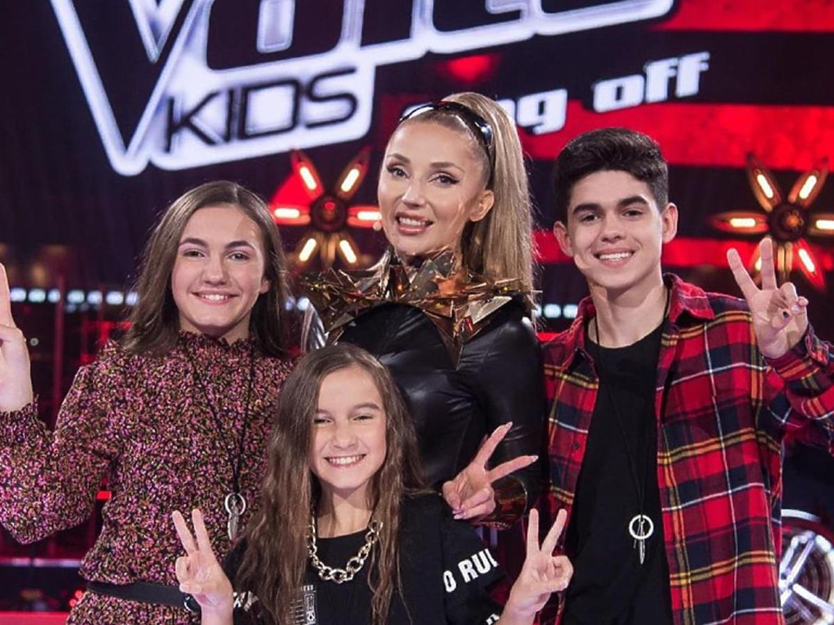 """Oto finaliści """"The Voice Kids"""" z drużyny Cleo"""