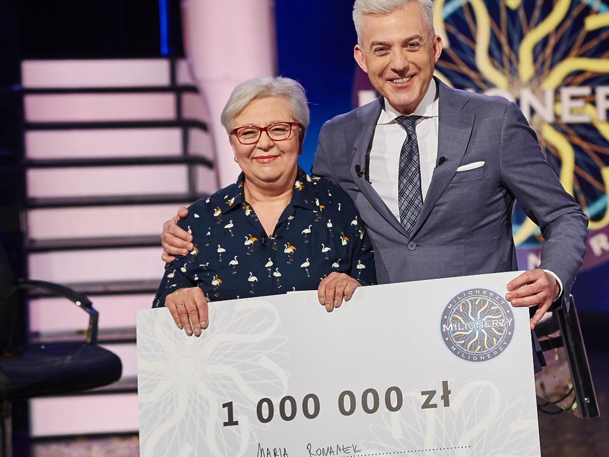 """Pani Maria wygrała milion w """"Milionerach"""""""