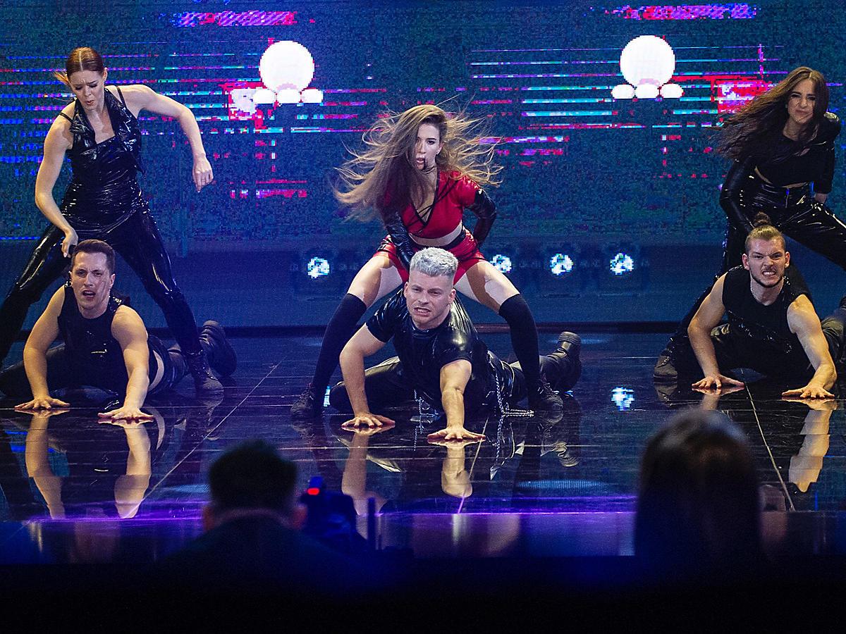 Roksana Węgiel w Dance Dance Dance