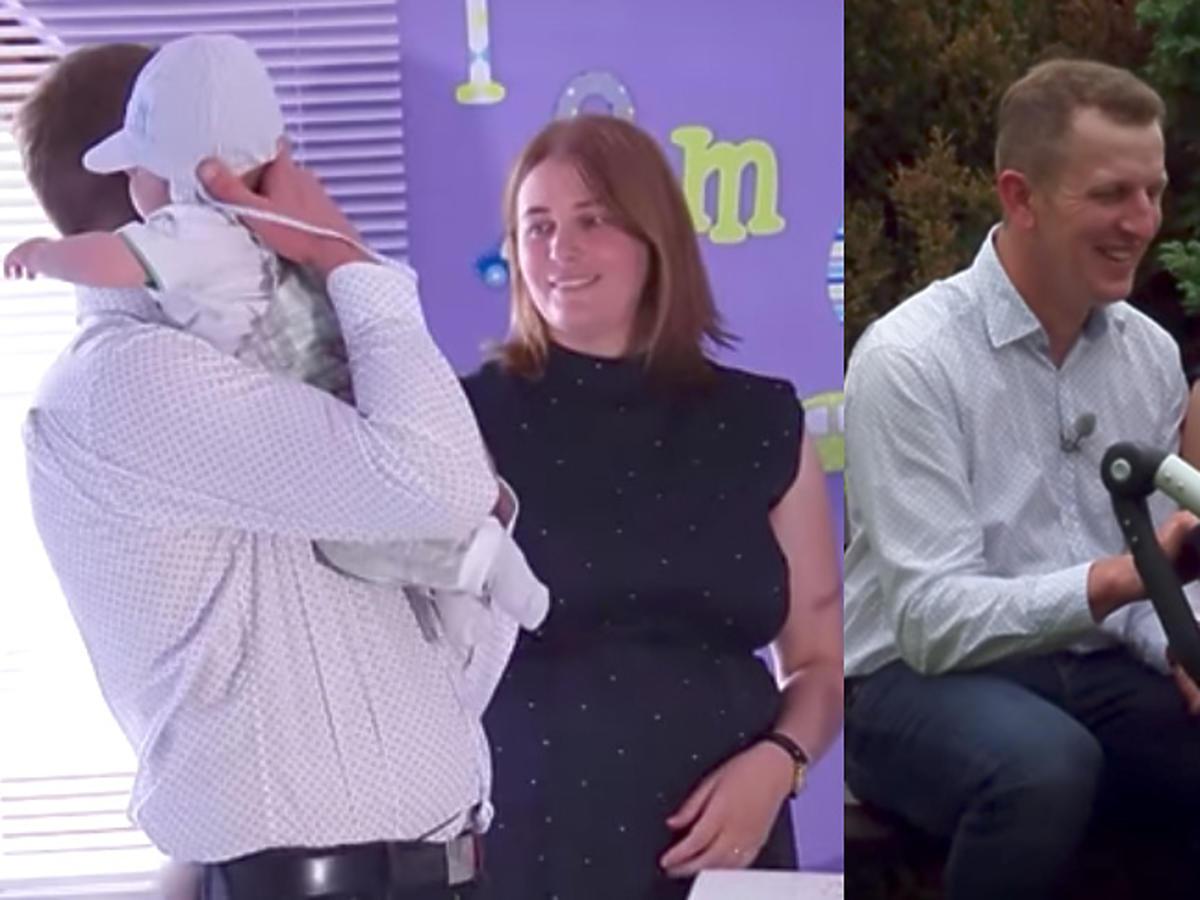 Rolnik szuka żony - Agnieszka i Robert pokazali syna Tomka w tv