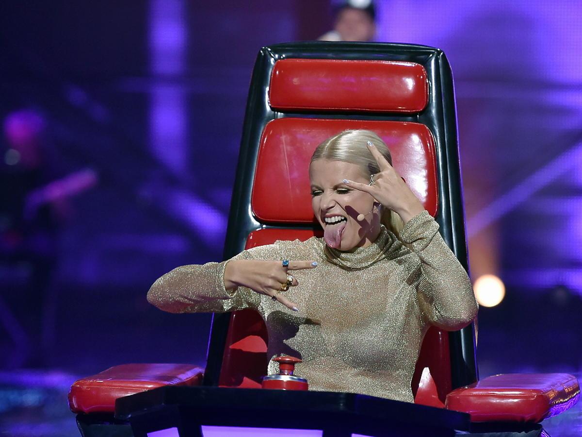 The Voice of Poland 8 - Marysia Sadowska na planie show