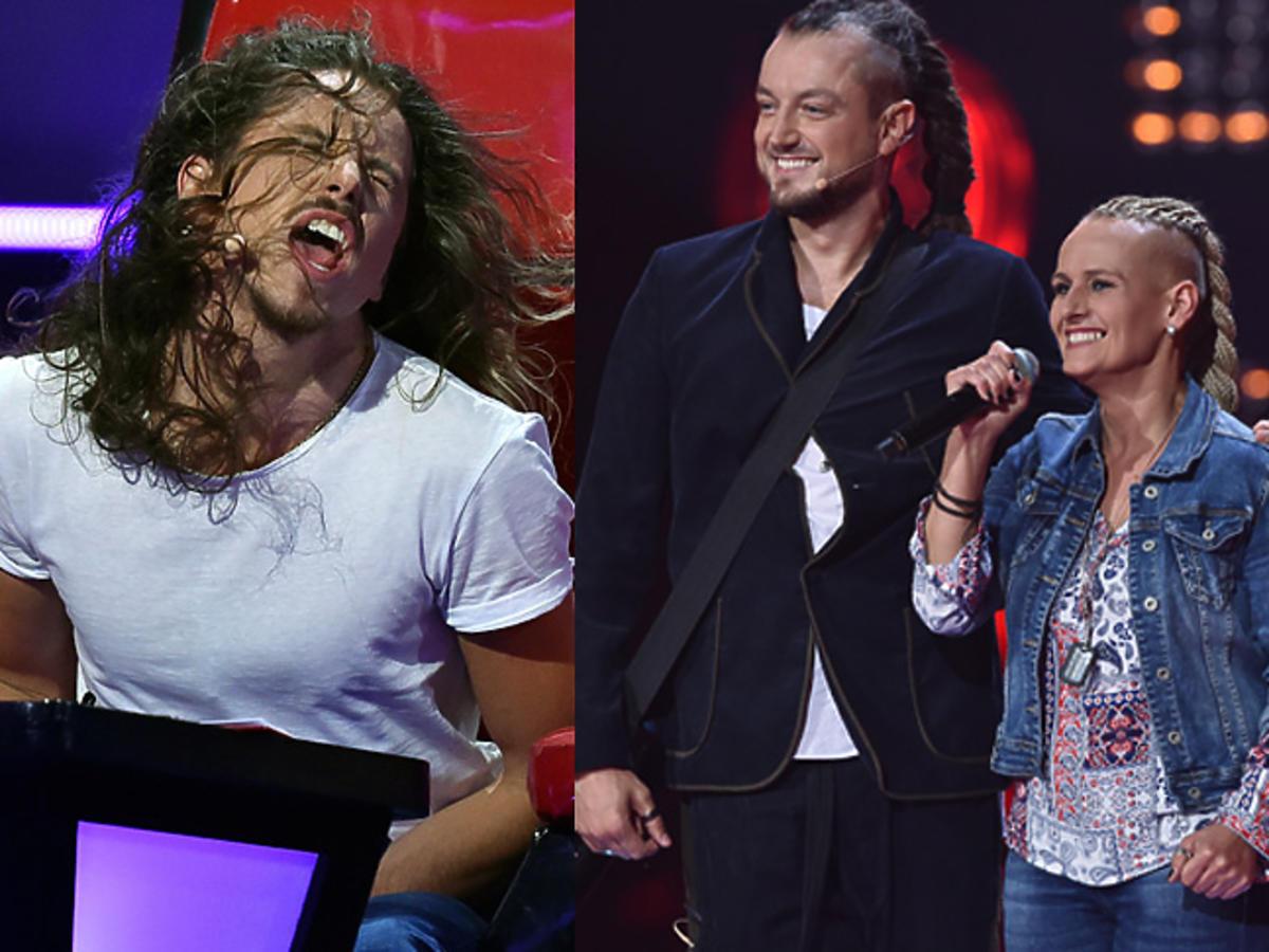 The Voice of Poland 8 - Michał Szpak szaleje na planie show