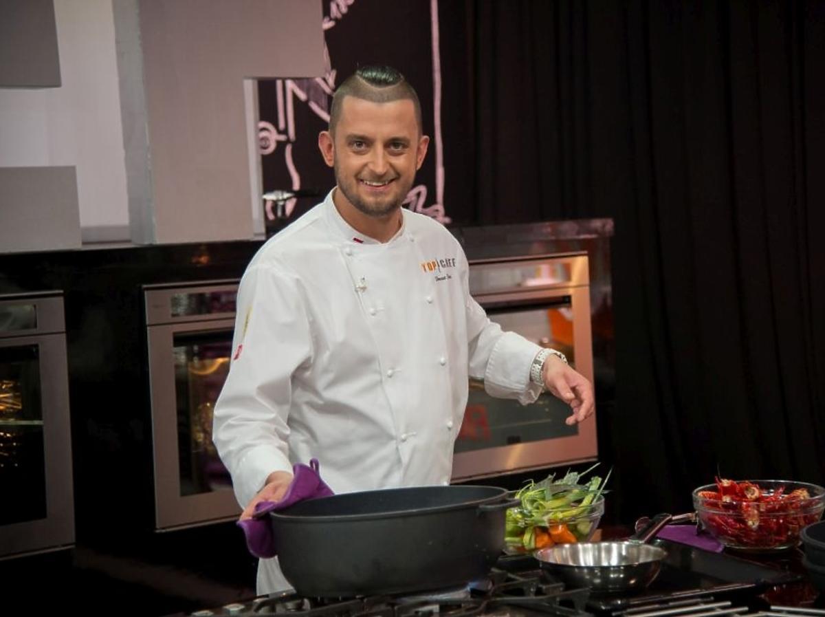 Sergiusz Hieronimczak gotuje w programie Top Chef